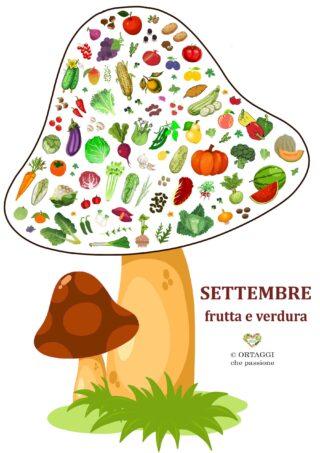 V 9 SETTEMBRE frutta e verdura di stagione ORTAGGI che passione by Sara Grissino