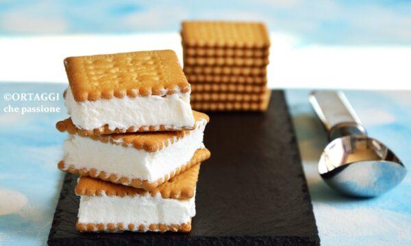 Biscotti gelato VEGAN – solo 2 ingredienti