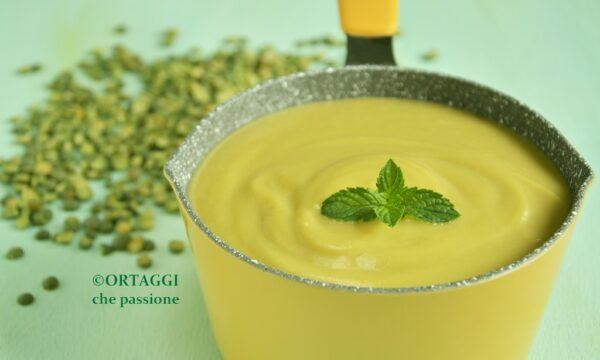 Crema di piselli secchi – ricetta VELOCE