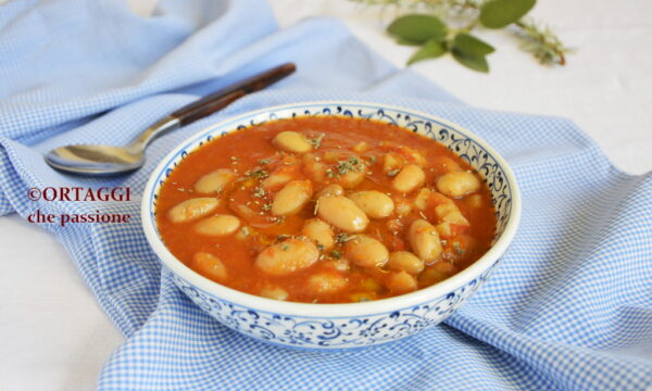 Zuppa con borlotti freschi – minestra di fagioli