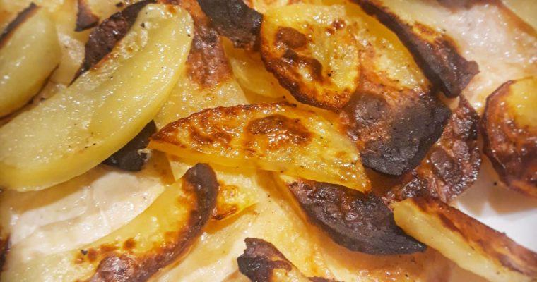 Petto di Pollo al forno con patate