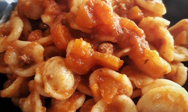 Orecchiette fresche alla bolognese