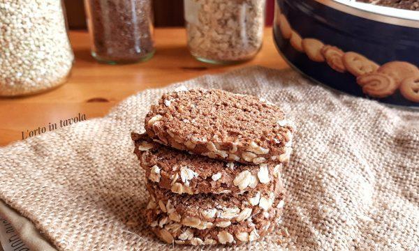 Biscotti alla Banana e Cacao | Senza Glutine
