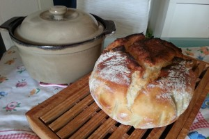 Pane in pentola senza impasto
