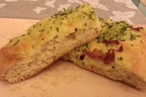 Focaccia Magica con Zucchine