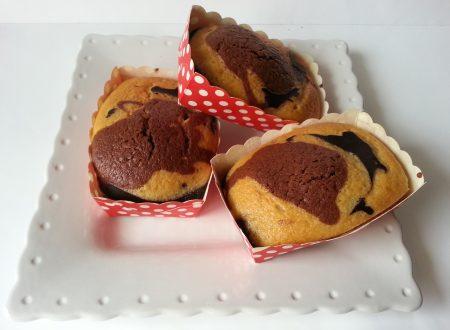 Mini Plumcake allo Yogurt Bicolori