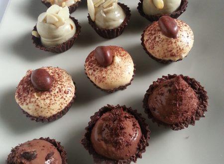 Bicchierini di Cioccolato con Namelaka Vari Gusti