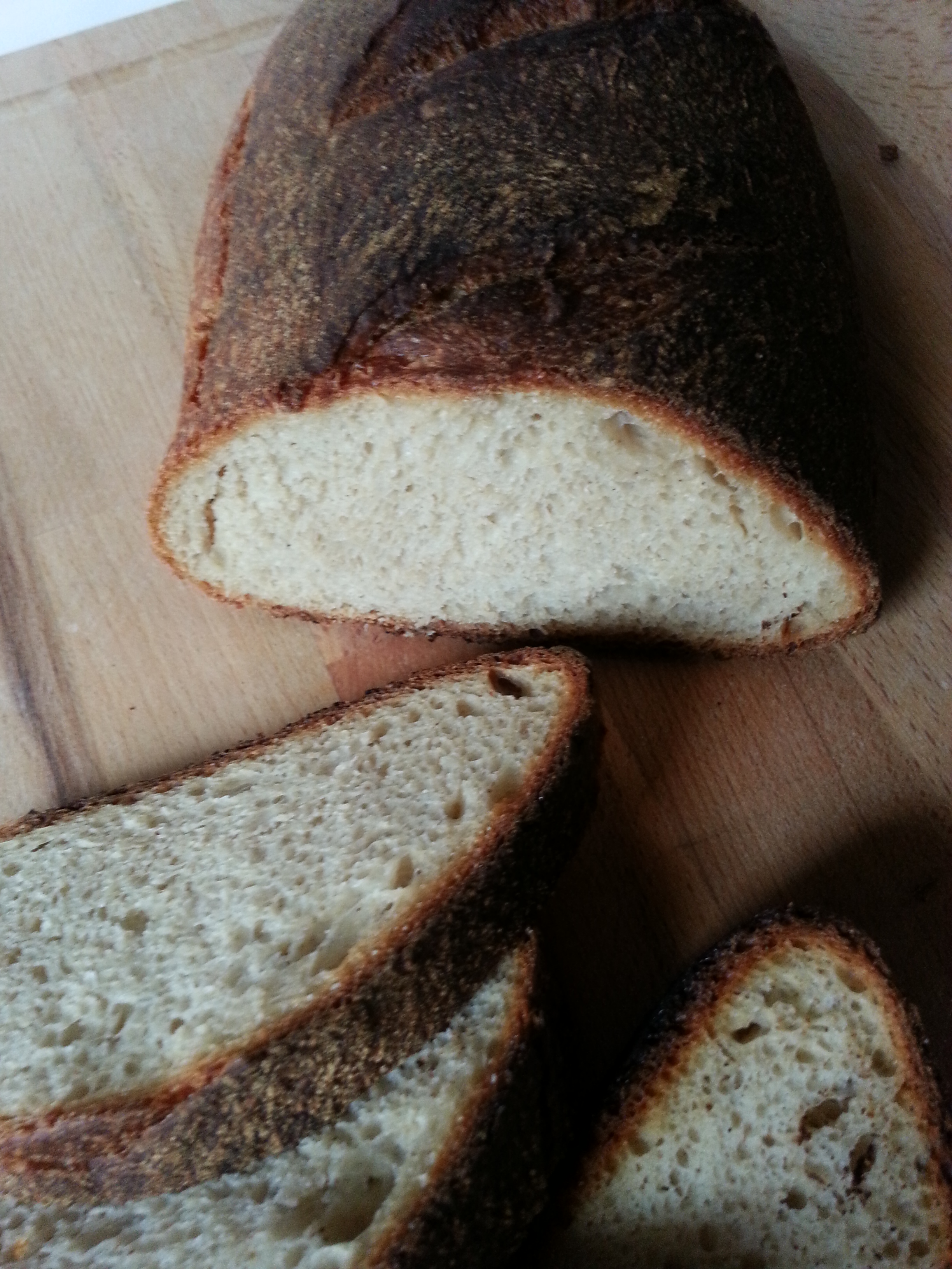 Pane di Semola Integrale con Lievito Madre