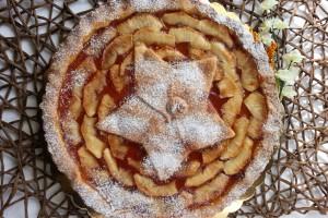 Crostata con Mele Caramellate