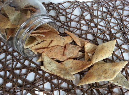 Crackers ai Semi di Papavero con Esubero LM