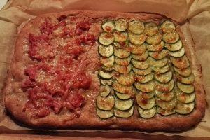 Pizza Integrale Bigusto Zucchine e Prosciutto Cotto