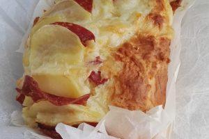 Plumcake Patate Provola e Salame
