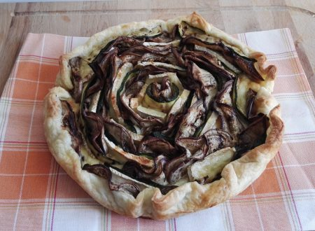 Quiche a Rosa di Verdure e Brie
