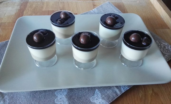 Panna Cotta Pistacchio e Cioccolato Bianco
