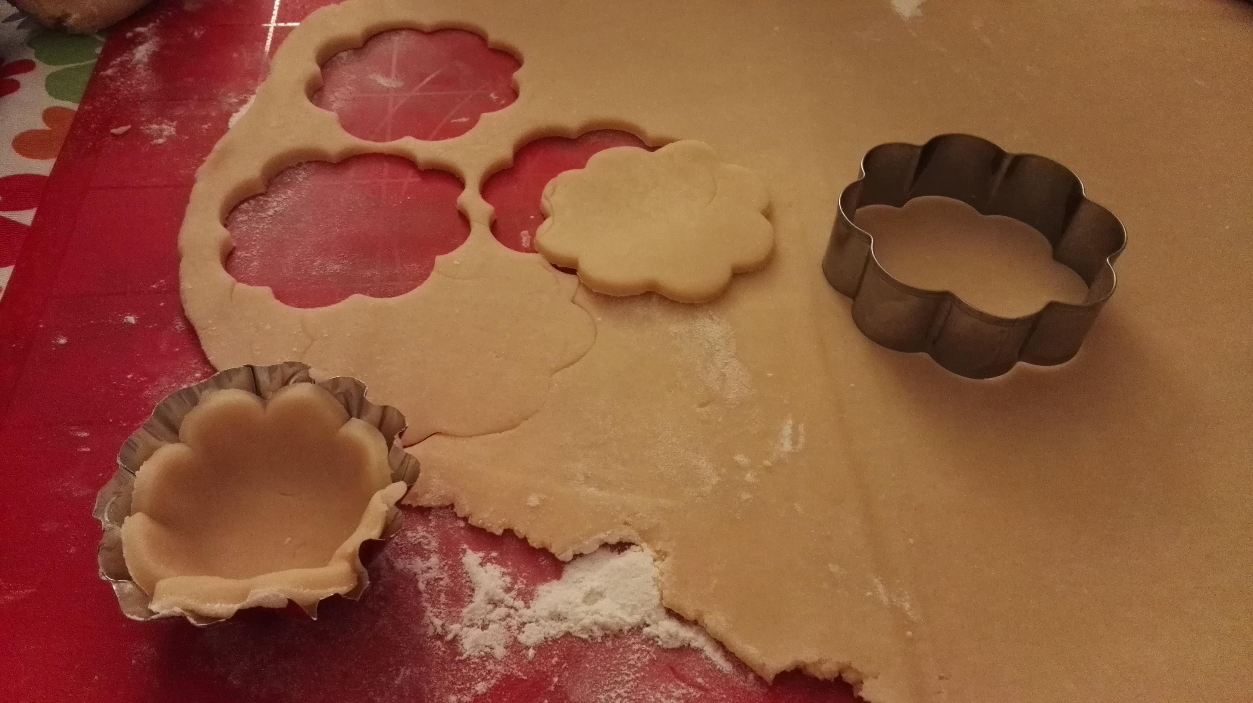 Diamo forma alle tartellette