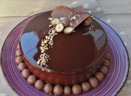 Torta Specchio delle Mie Brame (alle 4 Mousse di Cioccolato)