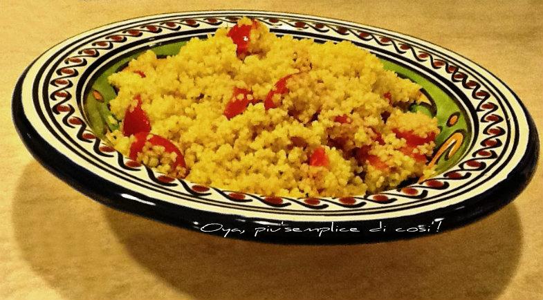 Cous Cous con salmone e pomodorini, ricetta semplice | Oya