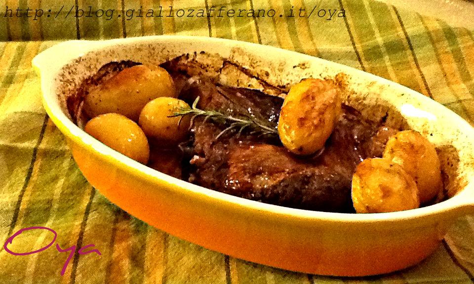 Costolette al forno con patate novelle, ricetta secondo piatto