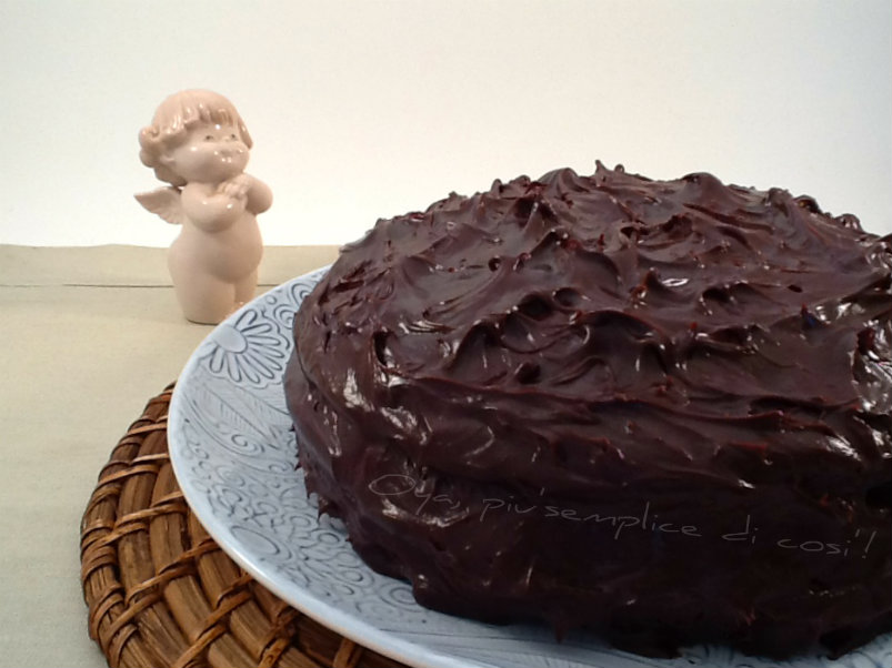 Devil's food cake, ricetta dolce | Oya
