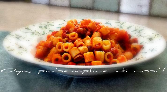Pasta e fagioli gustosa, ricetta primo piatto | Oya