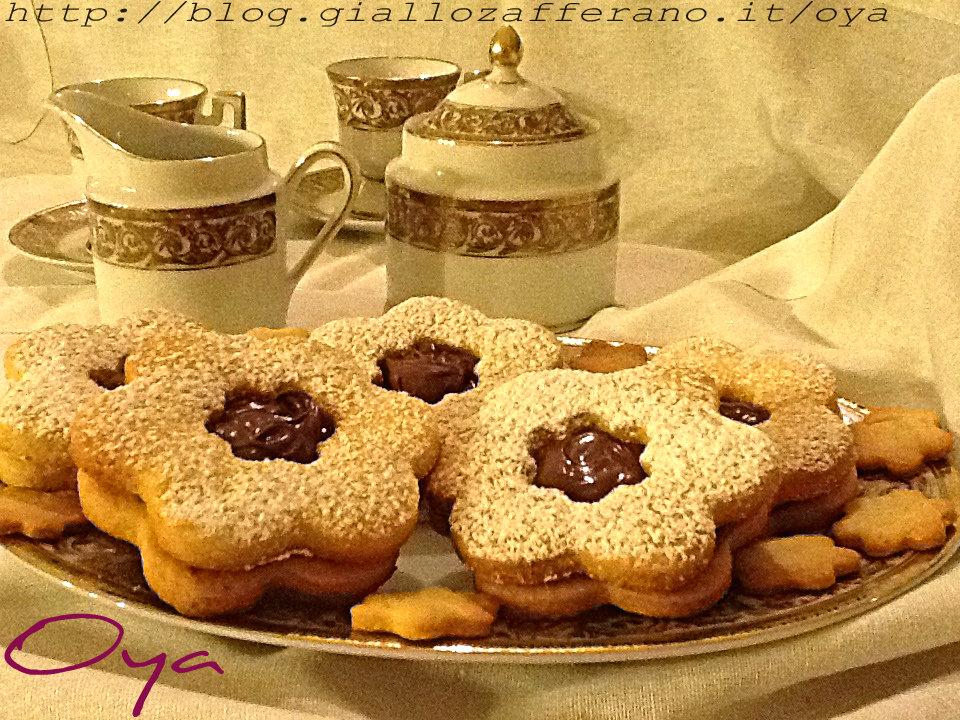 Biscotti maxi alla nutella, ricetta golosa | Oya