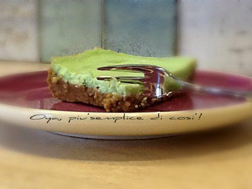 Cheesecake tropical, ricetta dolce alla menta