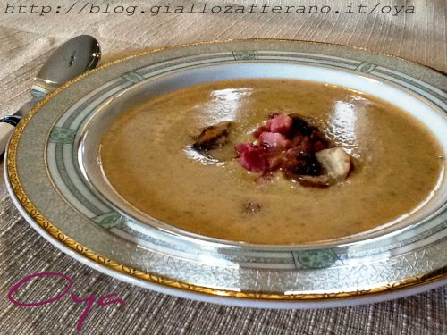 Vellutata zucca e funghi, ricetta delicata