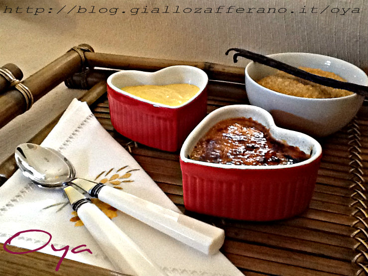 Creme brulee, ricetta dolce | Oya