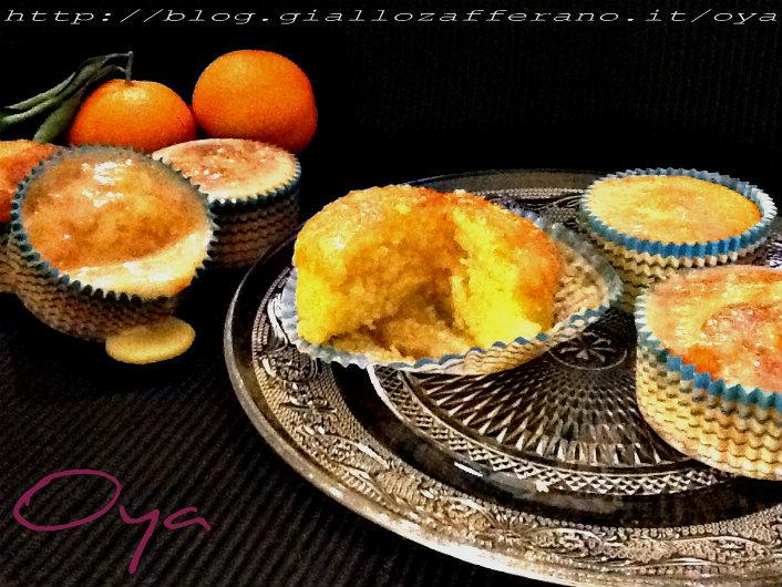 Cupcakes al mandarino con glassa, ricetta natalizia| Oya