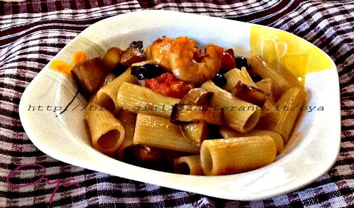 Pasta al misto di pesce, ricetta semplice | Oya