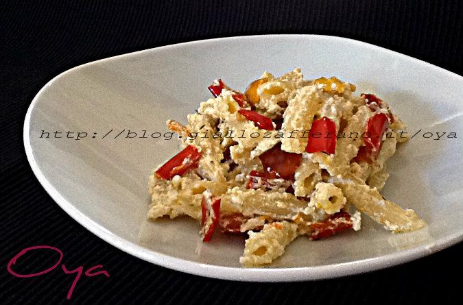 Pasta peperoni e ricotta, ricetta semplice | Oya