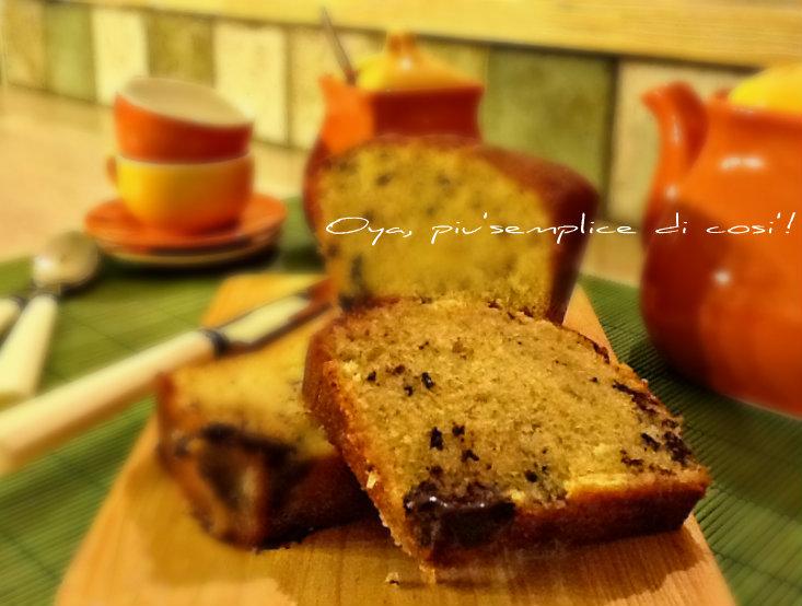 Plum Cake doppio cioccolato, ricetta golosa | Oya