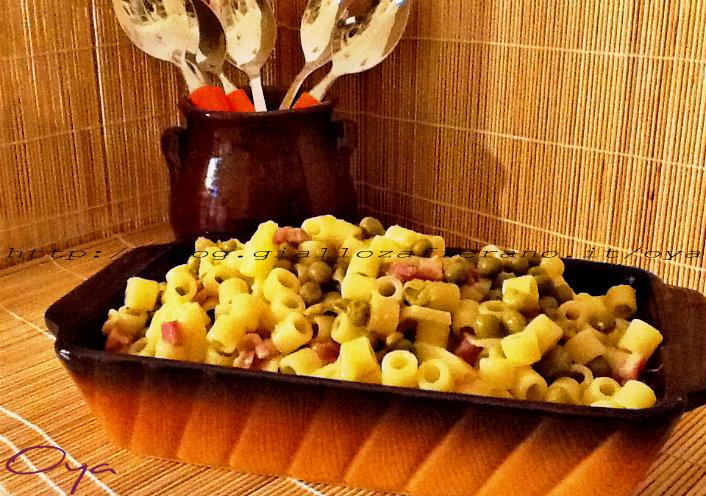 Pasta e piselli, ricetta primo piatto | Oya