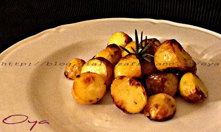 Patate novelle al rosmarino, ricetta contorno | Oya