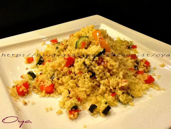 Cous cous con verdure, ricetta semplice | Oya
