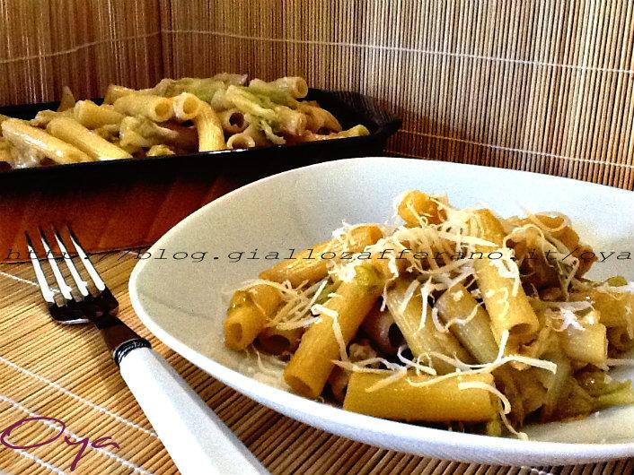 Pasta con verza saporita, ricetta primo piatto | Oya
