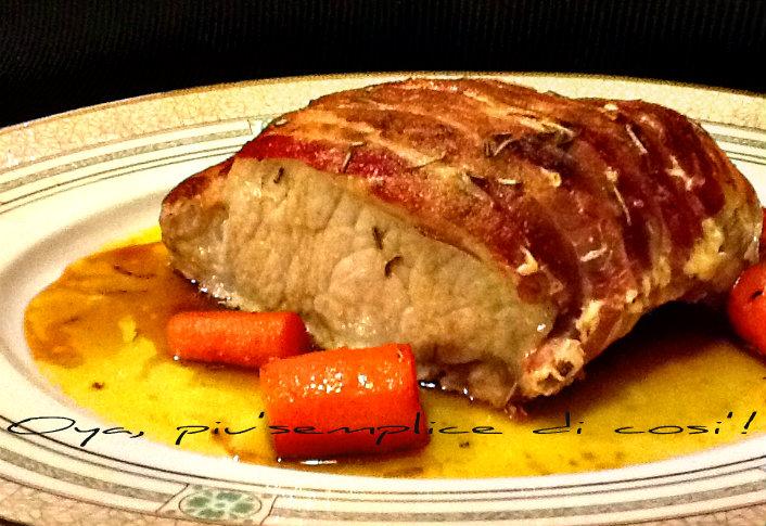 arista di maiale in crosta ricetta semplice e gustosa