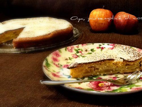 Torta di mele soffice, ricetta genuina senza burro