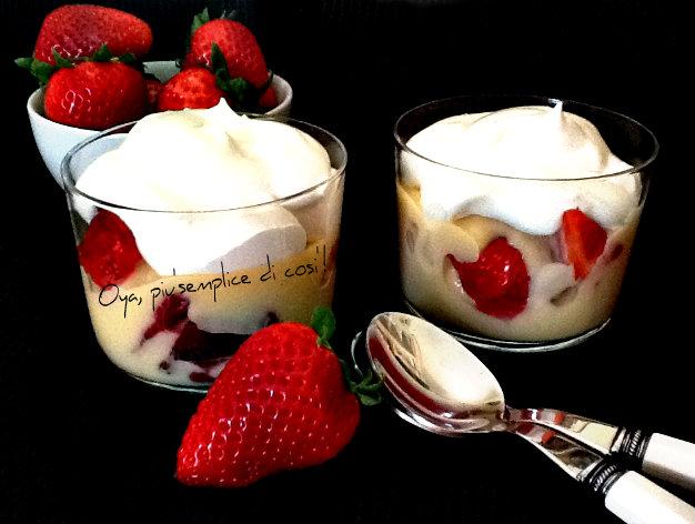 Fool di fragole, ricetta dessert alla frutta | Oya