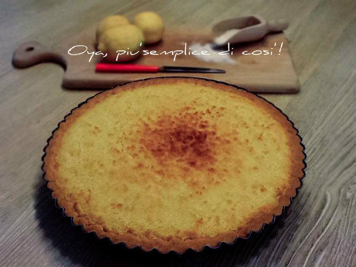 Crostata cocco e limone, ricetta dolce | Oya