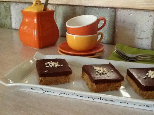 Dolcetti al cioccolato, ricetta senza forno
