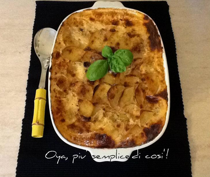 Tortino di patate al forno, ricetta gustosa | Oya