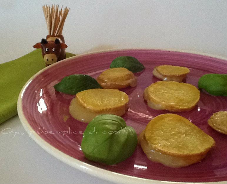 Bocconcini di patate filanti, ricetta | Oya