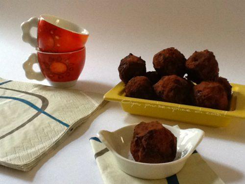Tartufi Nutella e cioccolato, ricetta dolce