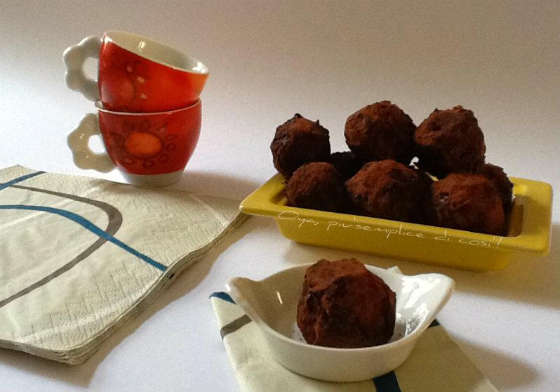 Tartufi Nutella e cioccolato, ricetta dolce | Oya