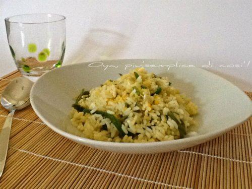 Insalata di riso con fagiolini, ricetta fresca e saporita