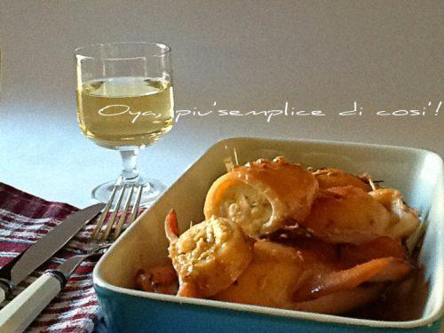 Calamari ripieni, ricetta semplice e saporita