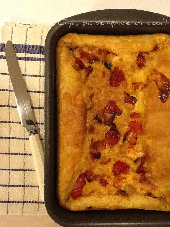 Torta rustica ai peperoni, ricetta squisita | Oya
