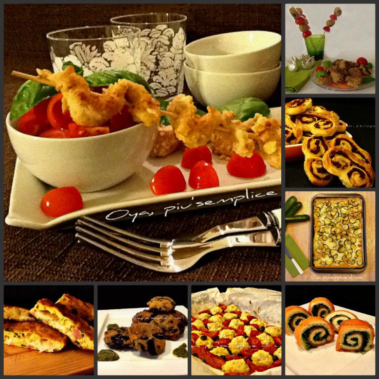 Ricette finger food, ricettario in pdf | Oya