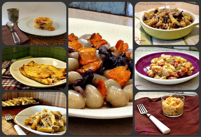 Primi piatti autunnali, raccolta ricette | Oya